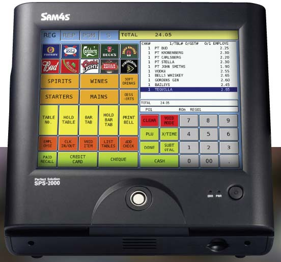 how to change clerk number on a sam4s